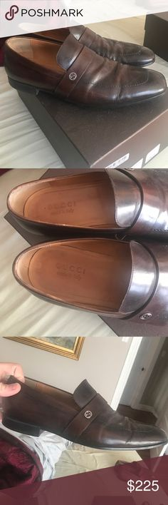 Gucci rodeo scuro 10.5 Light wear ! Great shape! W box medium width Gucci Shoes Loafers & Slip-Ons