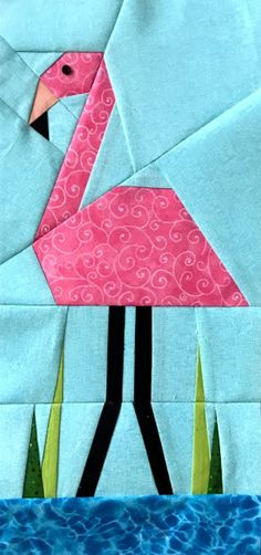 More Paper Pieced Water Birds - Made By Marney