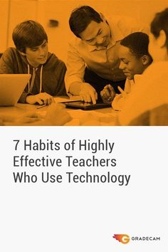 """""""Technology can never replace you as the educator, nor should it be used as a less-than-desirable replacement for duties you usually perform. Superhero Teacher, Effective Classroom Management, Teaching Skills, Teacher Inspiration, Formative Assessment, Free Math, Preschool Classroom, 7 Habits, Stressed Out"""