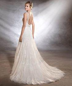 375f6d5a66158 62+ Ideas Wedding Dresses 2019 Pronovias Bohem Gelinlikleri, Gelinlikler,  Uzun Gelinlikler, Gelin