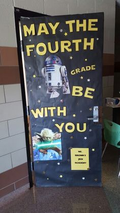 Star wars grade door - Decoration For Home Space Theme Classroom, Star Wars Classroom, 4th Grade Classroom, Classroom Door, Classroom Organization, Future Classroom, Classroom Ideas, Class Decoration, School Decorations