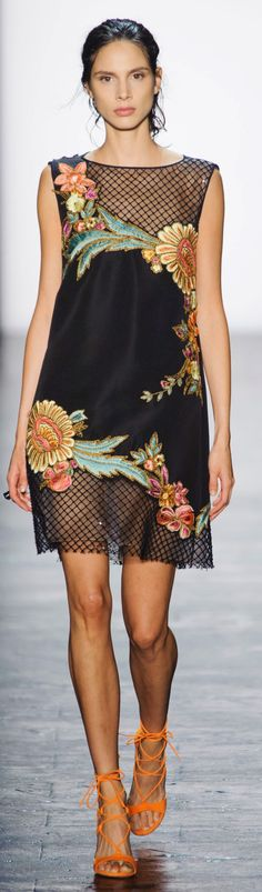 Dennis Basso Spring 2016 ~ New York Fashion Week