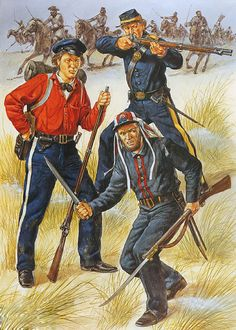 """Georgia Volunteers, 1861: • Governor's Guards • Sumter Light Guard • Henry Volunteers"", Richard Hook"