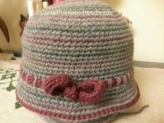 I& always liked to wear hats, any shape and color. Crochet Bowl, Crochet Beret, Crochet Cap, Diy Crochet, Knitted Hats, Crochet Summer Hats, Japanese Crochet, Diy Accessoires, Diy Hat