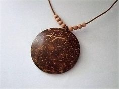 Coconut Wood NecklaceBoho Tribal NecklaceWood NecklaceAll