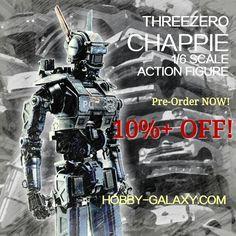 #THREEZERO #CHAPPIE #chappiethemovie #CHAPPIE2015 #OneSixthScale #actionfigure #preorder Hobby-Galaxy.com #HobbyGalaxy #toys #toyslagram #toyphotography #toygroup_alliance #toystagram #actionfigures