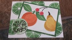 Stampin' Up! Occasions 2016 Apple of My Eye