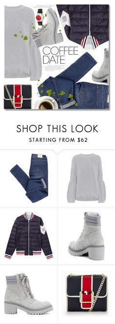 """Buzz-Worthy: Coffee Date"" by svijetlana ❤ liked on Polyvore featuring Cheap Monday, Brunello Cucinelli, Moncler, Tommy Hilfiger, Bertha and CoffeeDate"