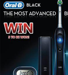 Win Oral-B toothbrush