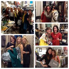 """Noe Valley's private party last Wednesday.   """"That is why I love Ambiance - every time I walk in, the amazing staff helps me find something that I would never have thought to try on. And now I love Ambiance even more - with your help we were able to raise $1120 for Miraloma Elementary School!"""" Britta *Contact JulieRhodes@ambiancesf.com to book your free of charge private party."""