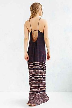 Ecote Tiles For Miles Maxi Dress- only mildly obsessed with maxis