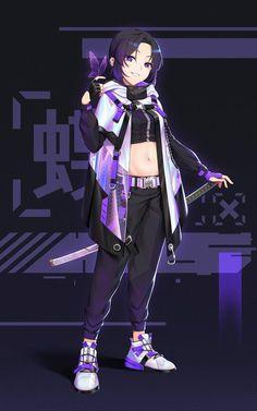 Chica Anime Manga, Manga Girl, Anime Chibi, Otaku Anime, Anime Girl Cute, Kawaii Anime Girl, Anime Art Girl, Anime Guys, Anime Angel