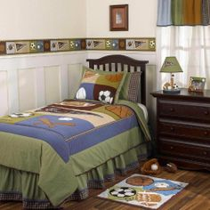 Sports Fan 3 Piece Twin Bedding Set by Cocalo Kids by Cocalo. $89.95