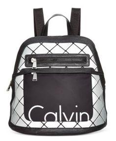 Calvin Klein Small Backpack - Silver