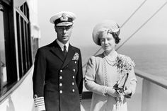 I Love the Monarchy:  King George VI and Queen Elizabeth (the Queen Mother)