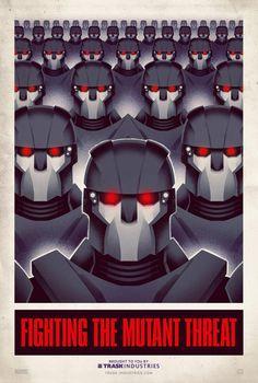 propaganda Fighting the mutant