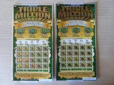 BIG WIN! - Playing TWO Michigan Instant Lottery Tickets - Triple Million - http://LIFEWAYSVILLAGE.COM/lottery-lotto/big-win-playing-two-michigan-instant-lottery-tickets-triple-million/