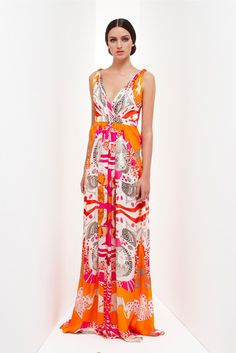 Collette Dinnigan Resort 2013 Fashion Show Collection