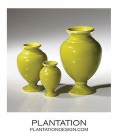 Vesuvius Mini Vases Set | Green Urn, Home Accents, Pompeii, Vases, Shelf, Design, Loft, China, House