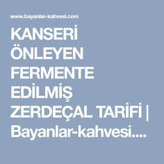KANSERİ ÖNLEYEN FERMENTE EDİLMİŞ ZERDEÇAL TARİFİ   Bayanlar-kahvesi.com