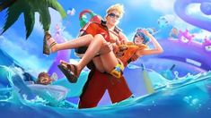Claude and Fanny Lifeguard by makinig on DeviantArt Mobile Legend Wallpaper, Hero Wallpaper, Couple Wallpaper, Wallpaper Quotes, Iphone Wallpaper, Disney Wallpaper, Wall Wallpaper, Wallpaper Backgrounds, Bruno Mobile Legends