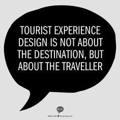 Tourist Experience Design - www.touristexperiencedesign.com