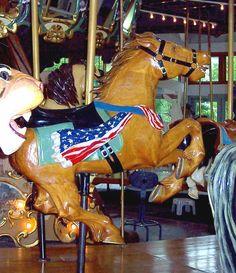 Coolidge Park Carousel Second Row Jumper  © Bette Sue Gray