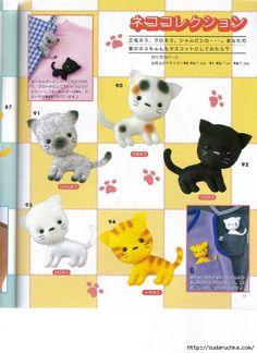 FREE Felt Cat Pattern
