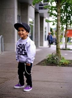 Little boy swag