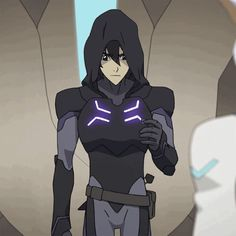 Keith with a hood on is my new favorite thing <333