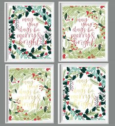 Have you started decorating for the holidays yet? If so (and even if you haven't), I've got something special to share with you all today! I so adore these free Christmas printables&#82…