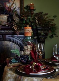 Happy To Design: An Autumn Evening by Candlelight