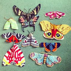 Newest obsession. Knitted Moths by @maxsworld Oh my..!  #regram by ladysippington