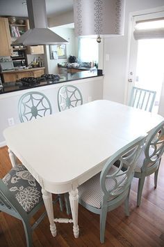 NEW LISTING MARCH 5th Vintage Dining Table by AbbeyLaneRedesign, $175.00