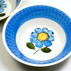 Vintage 1960s Westwood Floral Serving Bowls, $27 ... Etsy!