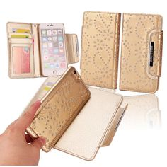 Cheap wallet credit card holder, Buy Quality wallet offers directly from China wallet case iphone 5 Suppliers: 2 in 1 Maple Leaf Flower Detachable Luxury Card Slots Holder Leather Wallet Cluth Case Flip Cover For iPhone 6 / 6 Plus Iphone 7, Apple Iphone, Iphone Wallet Case, Iphone Cases, Chip And Dale, Slot, Cactus, Luxury Card, Leaf Flowers