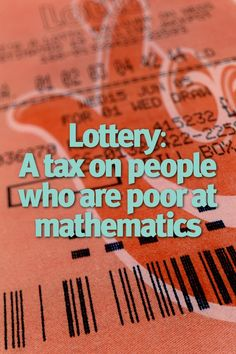 How to Win the Lottery -- a Different Way of Looking At It Play Lottery, Lottery Pick, Lottery Games, How To Win Lottery, Lottery Winner, Winning The Lottery, Lottery Strategy, Lotto Numbers