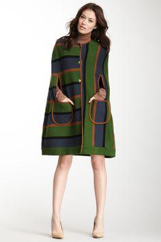 M Missoni Capelet Coat