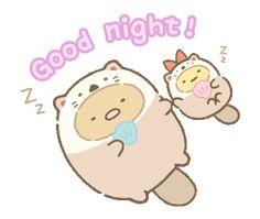 Cute Good Night, Cute Good Morning, Cute Anime Wallpaper, Cute Cartoon Wallpapers, Night Pictures, Little Twin Stars, Line Sticker, Doodle Art, Cute Drawings