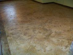 Painting Basement Floor Concrete Overlay Floor