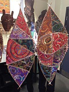 Zulu shields GCSE art