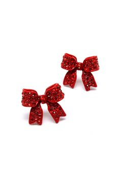 Poppy Bow Earrings