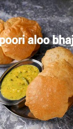 Indian Veg Recipes, Indian Dessert Recipes, Indian Snacks, Punjabi Recipes, Indian Breads, Puri Recipes, Spicy Recipes, Cooking Recipes, Bhaji Recipes