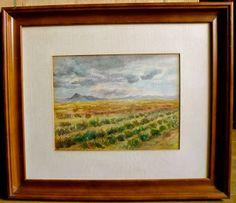 Scenery by Maria Luisa Ibanez, a Spanish artist. Spanish Artists, Ibanez, Scenery, Painting, Frame, Spanish Art, Picture Frame, Landscape, Painting Art