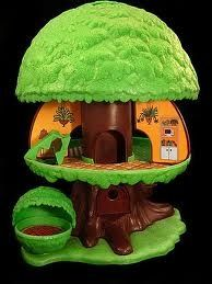80s toys treehouse I so wanted one of these.