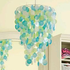 Cute chandelier for any girls room