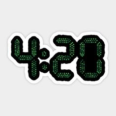 Auto Icons Set Of Three Pot 4:20 Icon Decals For Car Stickers