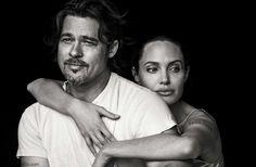 Angelina Jolie & Brad Pitt for Vanity Fair Italy November 2015. #vanityfair #angelinajolie