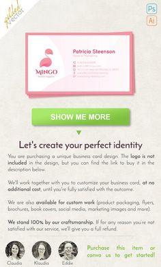 Piękna wizytówka, proste wizytówki, cyfrowy szablonu, wydrukować gotowe, jeden dwustronny, wolna dostosowywania, na zamówienie, pakiet marki