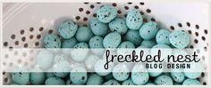Freckled Nest Blog Design $650 blog makeover; $1150 blog as a website design